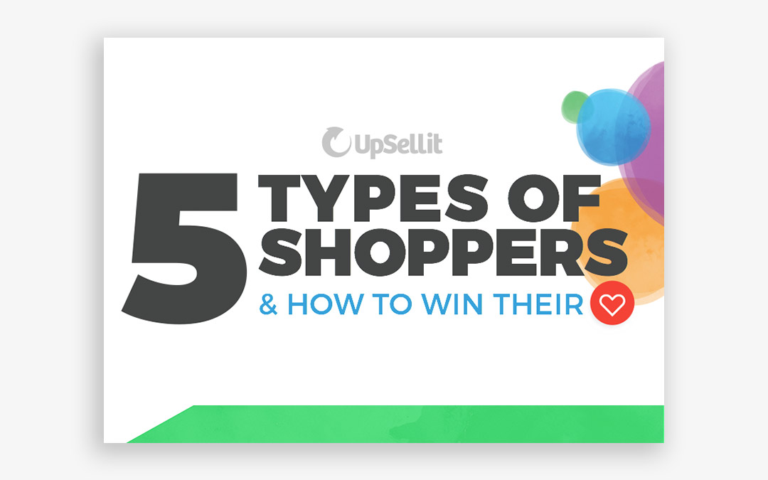 5 Types of Shoppers Infographic